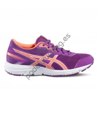 ZAPATILLAS DE RUNNING ASICS GEL ZARACA 5 GS ROSA..