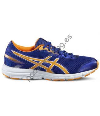 ZAPATILLAS DE RUNNING ASICS GEL ZARACA 5 GS AZUL..
