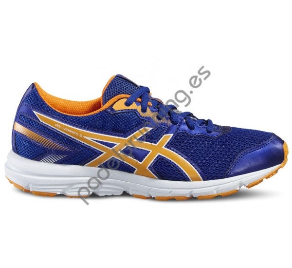 ZAPATILLAS DE RUNNING ASICS GEL ZARACA 5 GS AZUL