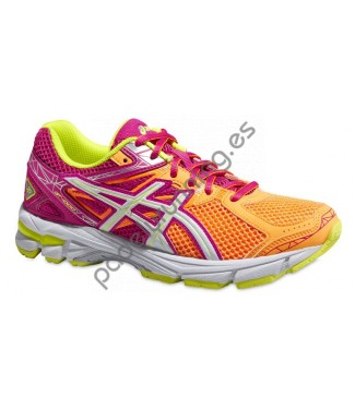 ZAPATILLAS DE RUNNING ASICS GEL GT-1000 3 GS NARAN..