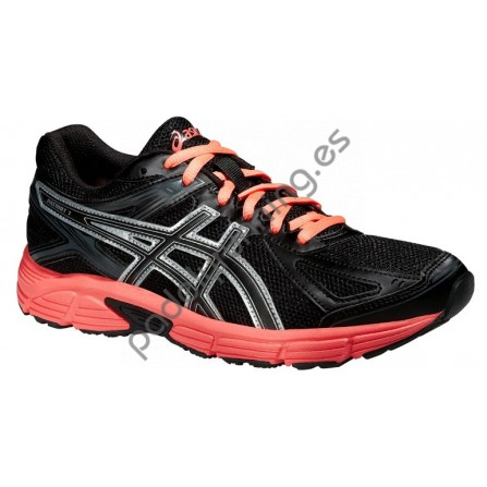 ZAPATILLAS DE RUNNING ASICS GEL PATRIOT 7 NEGRO/NARANJA