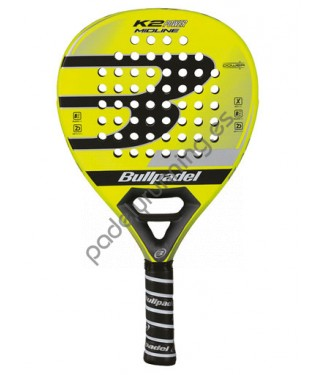 PALA DE PADEL BULLPADEL K2 POWER MIDLINE 2017..
