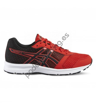 ZAPATILLAS DE RUNNING ASICS GEL PATRIOT 8 ROJO..